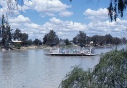 Ferry on the Murray