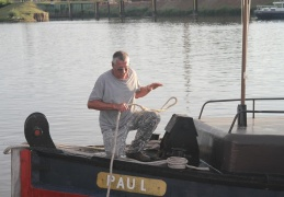 Paul, the tug which tried to pull Anja off the rock