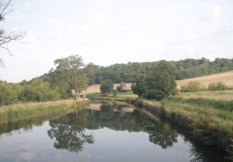 Along the Sarre Canal, France
