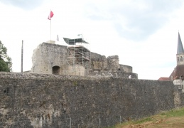 11th Century fortress, Chatel sur Moselle