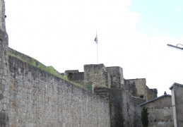11th C Fortress walls, Chatel sur Moselle