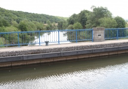 Pont Canal over the Moselle at Flavigny
