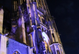 Son et Lumieres, Cathedral, Toul 14th July