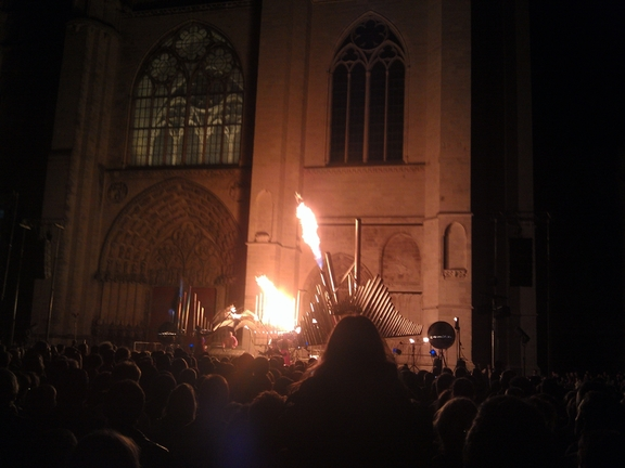 Dialogue between God and the Devil, Sens Cathedral 20/9/14