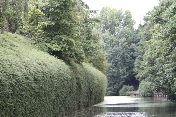 Along the Roubaix Canal