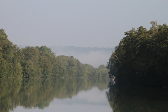 The Marne River in Autumn