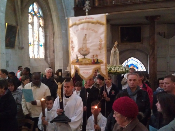 Celebrations of Our Lady of Fatima, Joigny