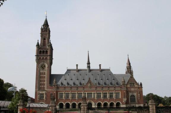 The Hague; the Peace Palace