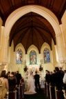 At the altar, St Vincent's College Chapel, Potts Point