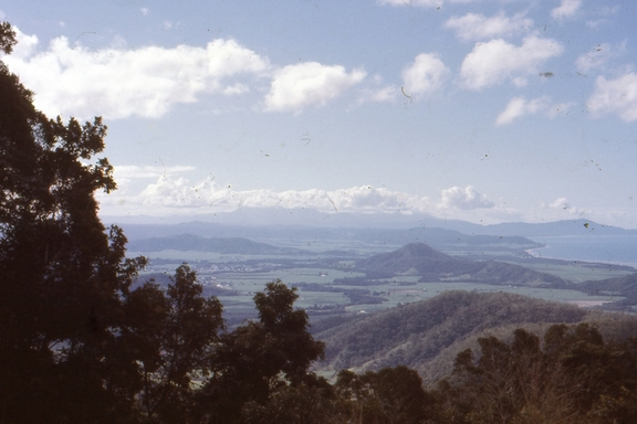 View from the Tablelands over Cairns