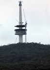 Black Mountain Tower under construction