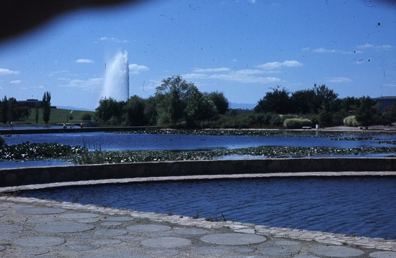 Captain Cook Fountain from Commonwealth Park