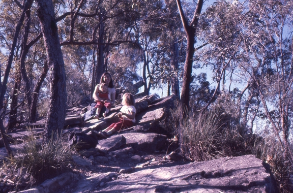 Penny, Liz and Wendy, Carnarvon National Park