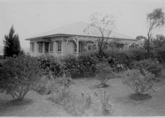 Cunliffe's home at Kempsey, 1945