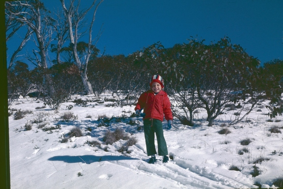 Snow in the Brindabellas