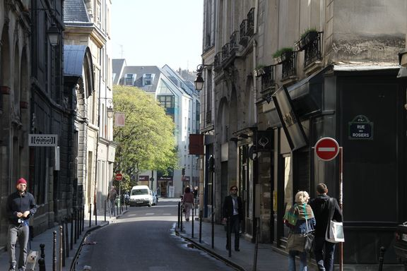 Street, Marais district
