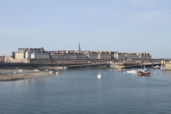 View of St Malo