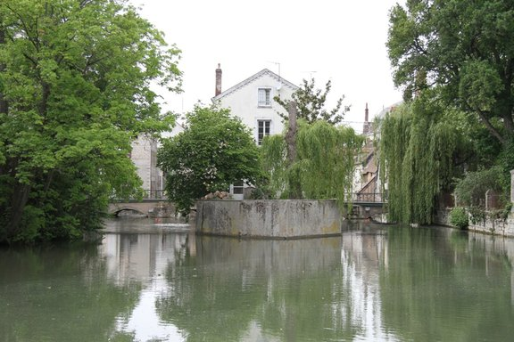 The Canals in Montargis