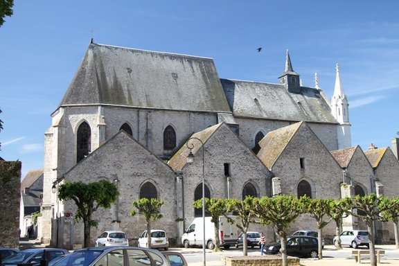 Another view of the Church, Chatillon Coligny