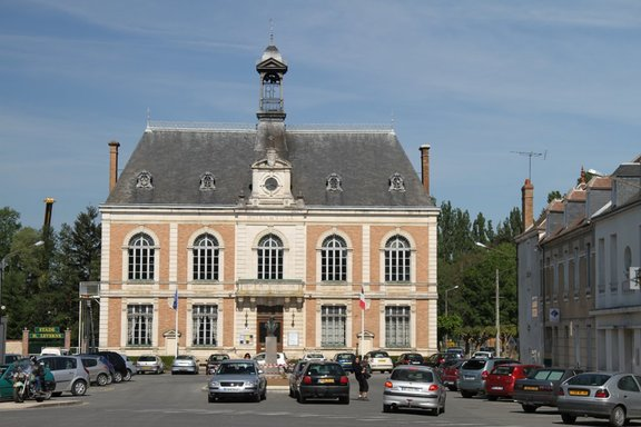 Town Hall, Chatillon Coligny