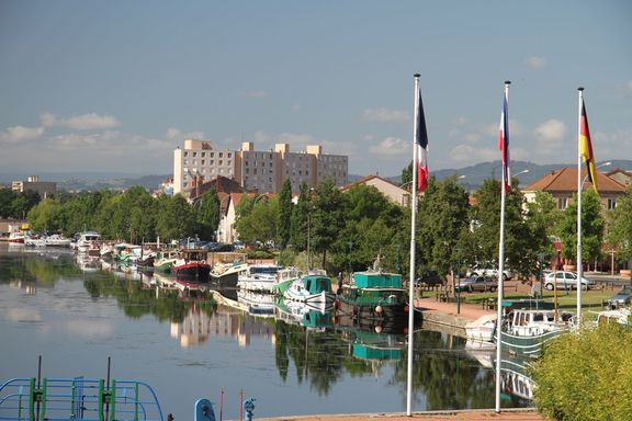 Marina at Roanne, used to be the Port