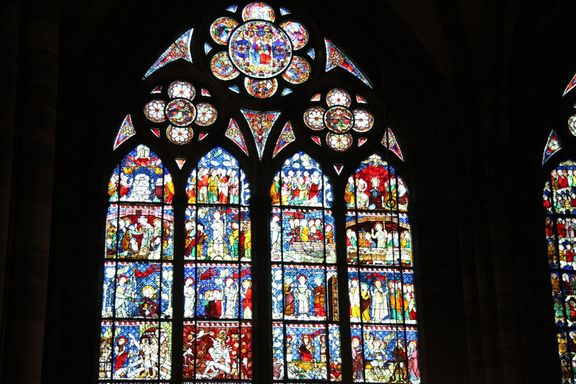 Inside the Cathedral, Strasbourg