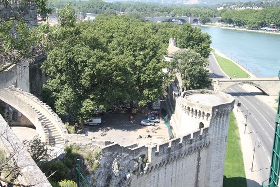 View from the Rocher des Doms, Avignon