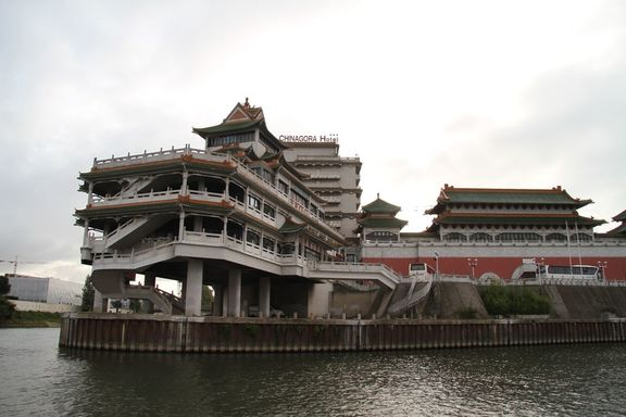 The Marne meets the Seine- Chinese food temple