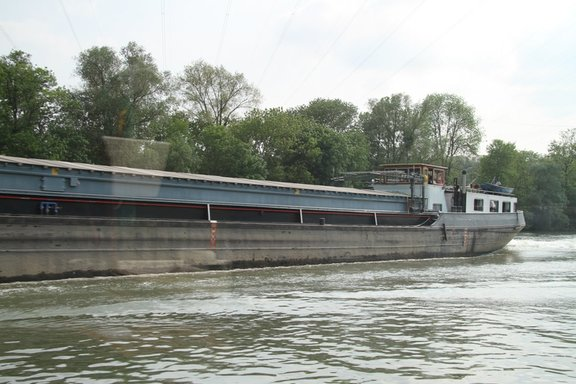 Large Commercial barge