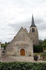 11th C Church, Montbouy