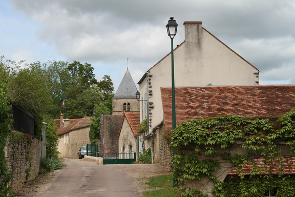 Old streets at Grignon