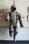 Very old diving suit