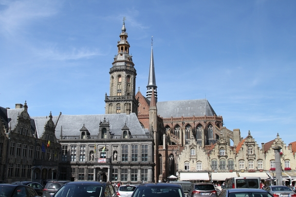 Veurne's Church and Belfry