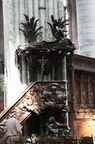 Pulpit, Church of St Walburg, Veurne