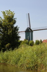 Windmill next to the Lo Canal