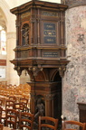 Pulpit, Beautifully decorated Church at L'Isle Adam
