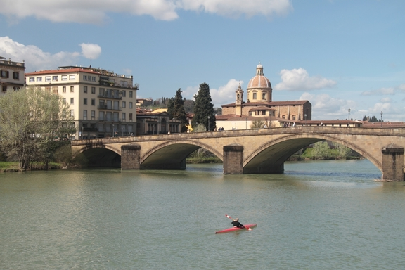 Bridges across the Arno River, Florence