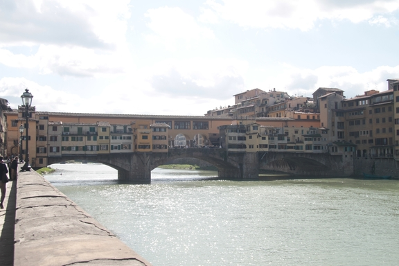 Along the Arno River, Florence