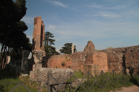 Ruins of Domus Augustana on the Palatine Hill