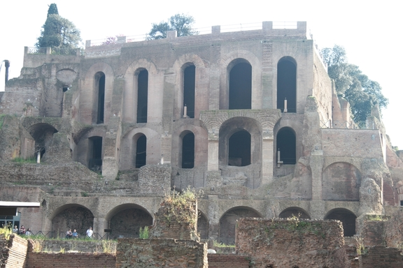 In the Roman Forum