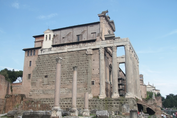 Temple of Antoninus and Festina