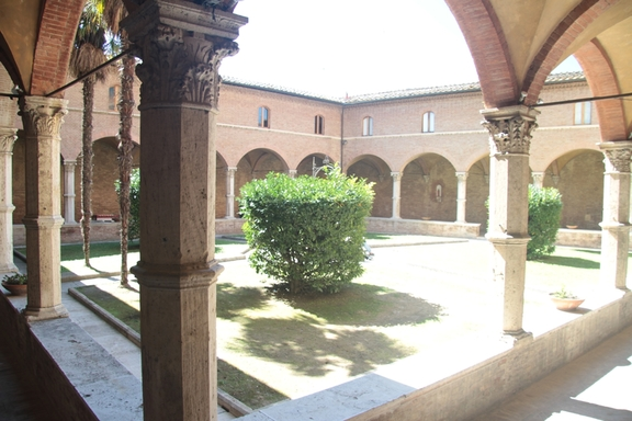 15th C Cloister, Church of St Dominic, Siena
