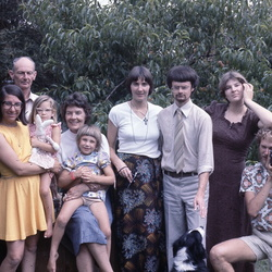 Kerr Family  from 1970s