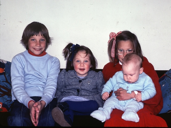 Liz, Bernadette, Wendy and Therese, 1982
