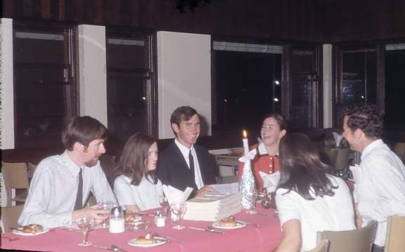 Agape Dinner at the ANU, Easter 1970