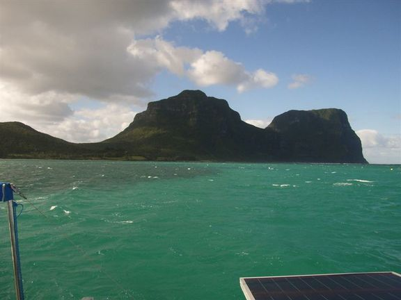 Arriving at Lord Howe