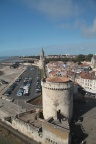 View from St Nicholas Tower, La Rochelle