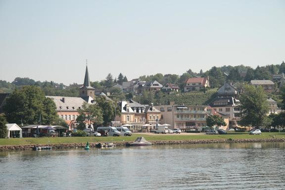 Town along the Mosel, Germany