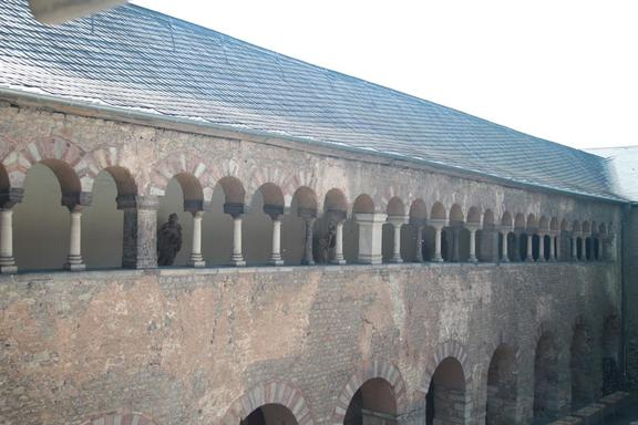 Part of the old Roman wall, Trier