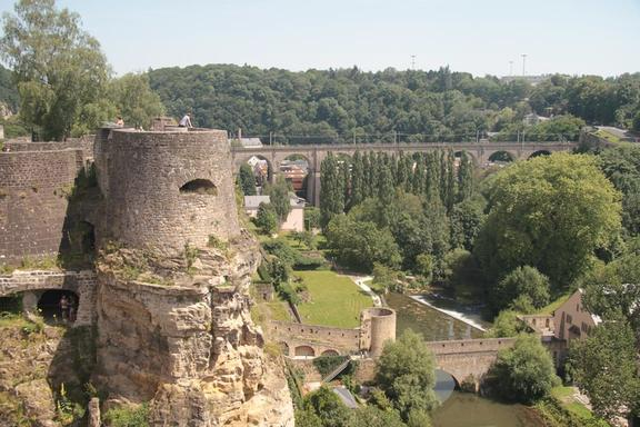 "Ancient Fortress, ""The Bock"", Luxembourg"